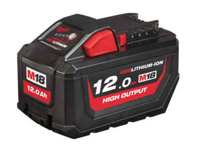 Milwaukee M18 REDLITHIUM-ION™, 12,0Ah HIGH OUTPUT™ batteri