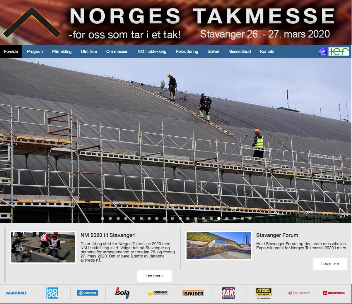 Vi ses på Norges Takmesse :)