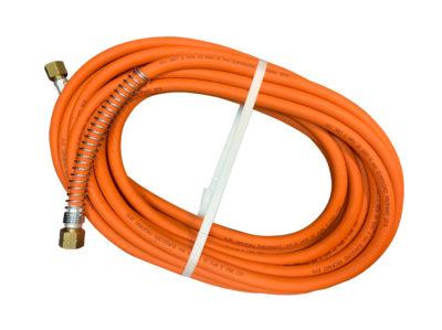10m Gass-slange m/anti-knekk