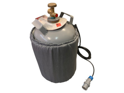 Elektrisk varmebelte for gassflasker