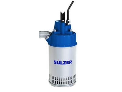 Sulzer J12 W – Senkbar lensepumpe inkl. utløpskobling, 230V, 1-Fas