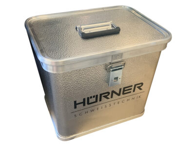 Hürner Aluminium Transportkasse til HST Elektromuffe sveisemaskiner